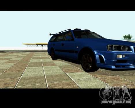 Nissan Stagea Tunable pour GTA San Andreas roue