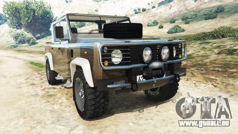 Land Rover Defender 110 Pickup für GTA 5