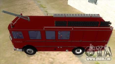 Roman 8135 FA für GTA San Andreas Innenansicht