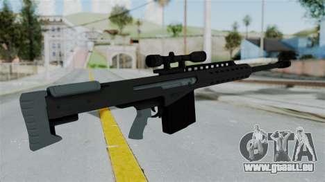 GTA 5 Heavy Sniper (M82 Barret) für GTA San Andreas dritten Screenshot