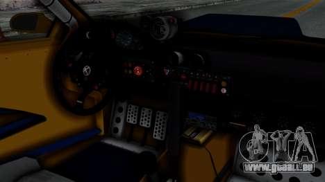 GTA 5 Karin Sultan RS Rally PJ für GTA San Andreas rechten Ansicht