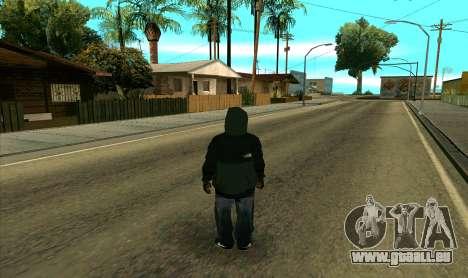 BALLAS1 pour GTA San Andreas troisième écran