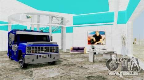 SF Paul Walker of Always Evolving Car pour GTA San Andreas troisième écran