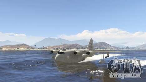 GTA 5 Amphibious Plane sechster Screenshot