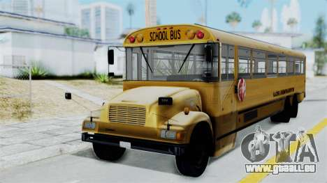 Bus from Life is Strange pour GTA San Andreas