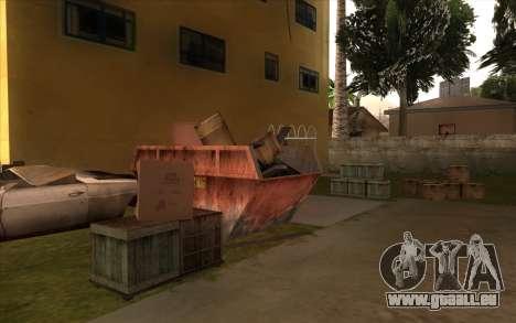 Des travaux de réparation sur Grove Street pour GTA San Andreas dixième écran