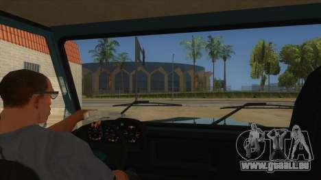 Aro 246 (1996) pour GTA San Andreas vue intérieure