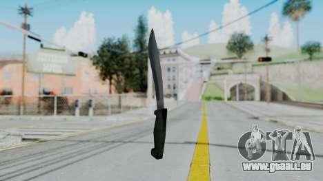 Vice City Knife pour GTA San Andreas deuxième écran
