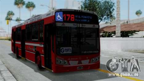 Todo Bus Pompeya II Agrale MT15 Linea 178 pour GTA San Andreas