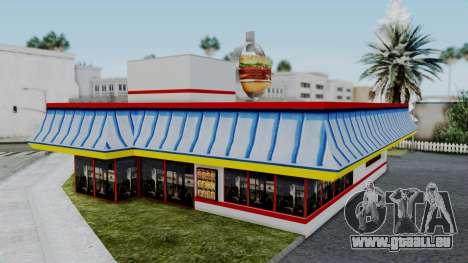 Burger King Texture für GTA San Andreas dritten Screenshot
