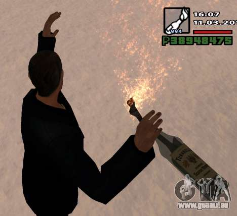 Un Cocktail Molotov pour GTA San Andreas