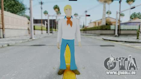 Scooby Doo Fred für GTA San Andreas zweiten Screenshot