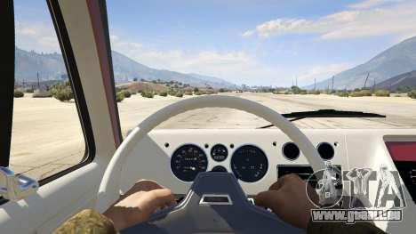 GTA 5 GMC Vandura (A-Team Van) vue arrière