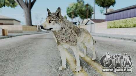 Wolf pour GTA San Andreas deuxième écran