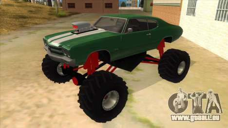 1970 Chevrolet Chevelle SS Monster Truck pour GTA San Andreas