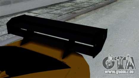GTA 5 Karin Sultan RS Drift Big Spoiler PJ für GTA San Andreas rechten Ansicht