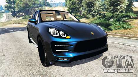 Porsche Macan Turbo 2015 pour GTA 5