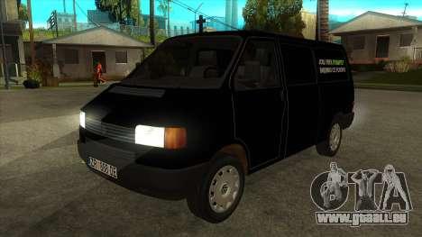 VW T4 Mrtvačka roues pour GTA San Andreas