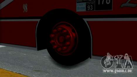 Todo Bus Pompeya II Agrale MT15 Linea 178 pour GTA San Andreas sur la vue arrière gauche