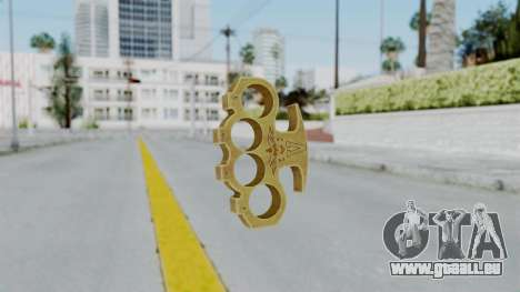 The Vagos Knuckle Dusters from Ill GG Part 2 pour GTA San Andreas