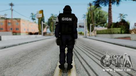 GIGN Gas Mask from Rainbow Six Siege pour GTA San Andreas troisième écran