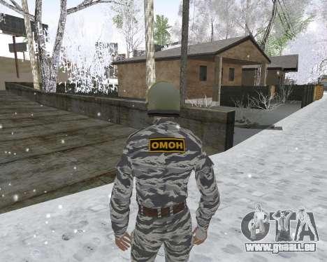 Les OMON pour GTA San Andreas deuxième écran