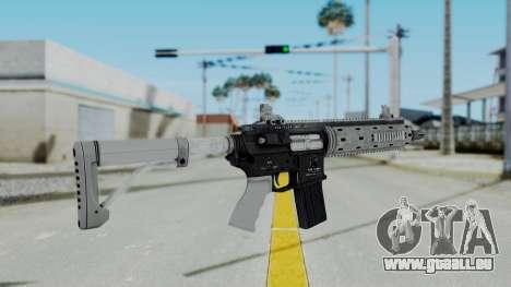 GTA 5 Carbine Rifle pour GTA San Andreas troisième écran
