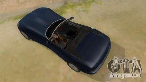 HD Banshee update pour GTA San Andreas vue de dessus