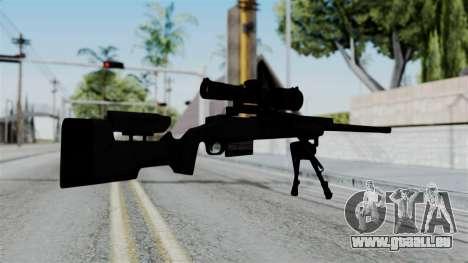 TAC-300 Sniper Rifle für GTA San Andreas zweiten Screenshot