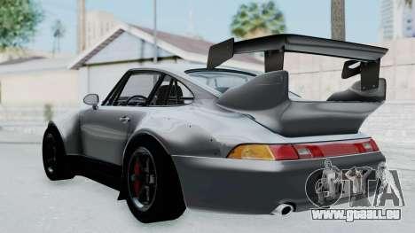 Porsche 911 GT2 Widebody 1995 NFS 2015 pour GTA San Andreas laissé vue