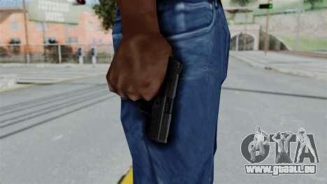 HK45 Black pour GTA San Andreas troisième écran