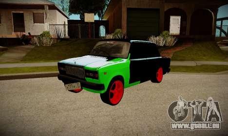 VAZ 2107 hobo pour GTA San Andreas