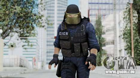 GIGN 1 Masked from CSO2 pour GTA San Andreas