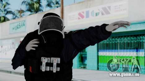 GIGN Gas Mask from Rainbow Six Siege pour GTA San Andreas