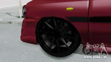 Kia 131 SX Full Tuning pour GTA San Andreas sur la vue arrière gauche
