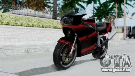 FCR-900 Custom pour GTA San Andreas