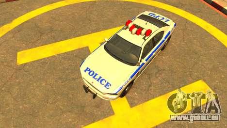 Bravado Buffalo Police Patrol [original wheels] für GTA 4 rechte Ansicht