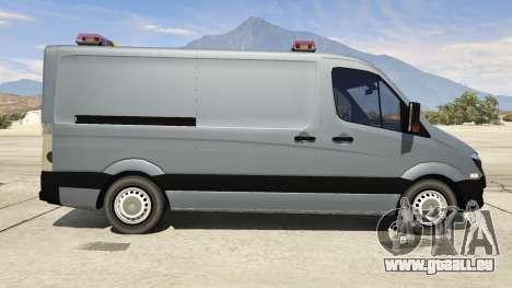 Mercedes-Benz Sprinter Worker Van pour GTA 5