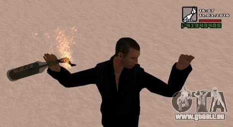 Un Cocktail Molotov pour GTA San Andreas deuxième écran