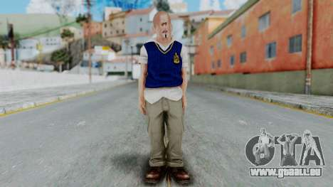 Bully Insanity Edition - Jimmy pour GTA San Andreas deuxième écran