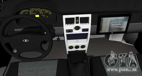 VAZ 2110 v. 2.0 pour GTA San Andreas vue de droite