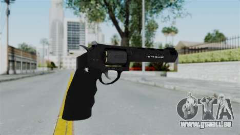 GTA 5 Heavy Revolver - Misterix 4 Weapons für GTA San Andreas zweiten Screenshot