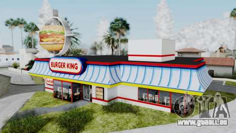 Burger King Texture pour GTA San Andreas