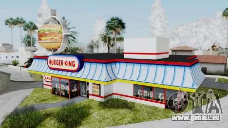 Burger King Texture für GTA San Andreas