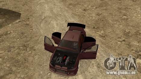 Mitsubishi Galant VR-4 (2JZ-GTE) für GTA San Andreas Innenansicht