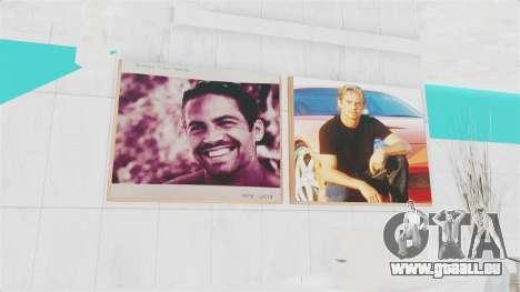 SF Paul Walker of Always Evolving Car pour GTA San Andreas quatrième écran