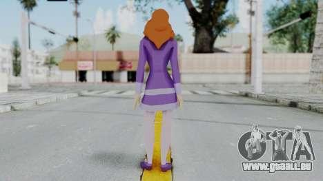 Scooby Doo Daphne pour GTA San Andreas troisième écran