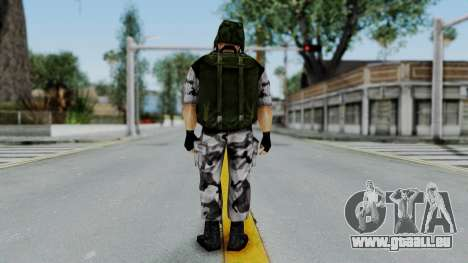Shephard from Half-Life Opposing Force pour GTA San Andreas troisième écran