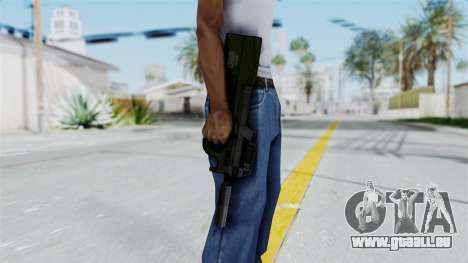 P90 Green für GTA San Andreas dritten Screenshot