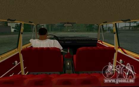 VAZ 2102 BK pour GTA San Andreas vue arrière